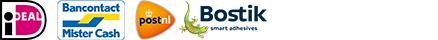 veilig betalen en verzenden bij uw officiële Bostik dealer